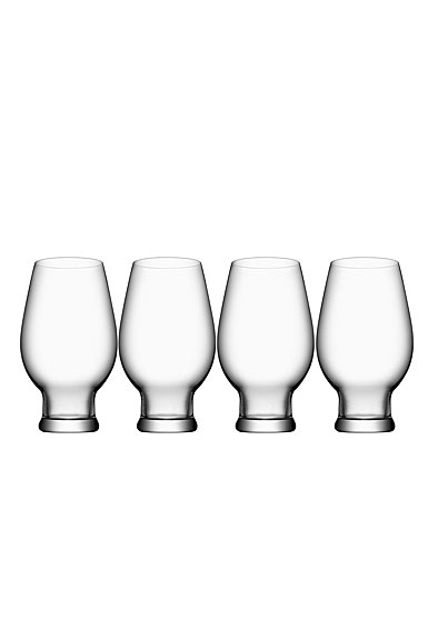 Orrefors Crystal, Crystal Beer India Pale Ale, Set of Four