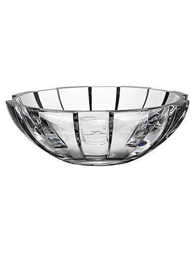 Orrefors Crystal, Revolution Crystal Centerpiece Crystal Bowl