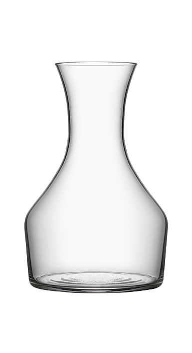 "Orrefors Crystal Share 6.5"" Wine Carafe"