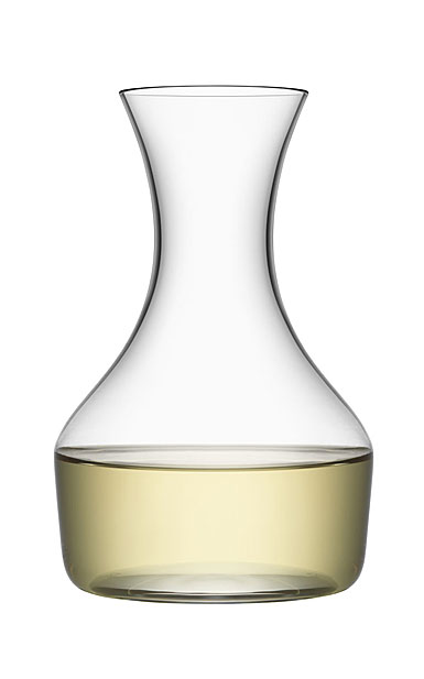 "Orrefors Crystal Share 8.25"" Wine Carafe"