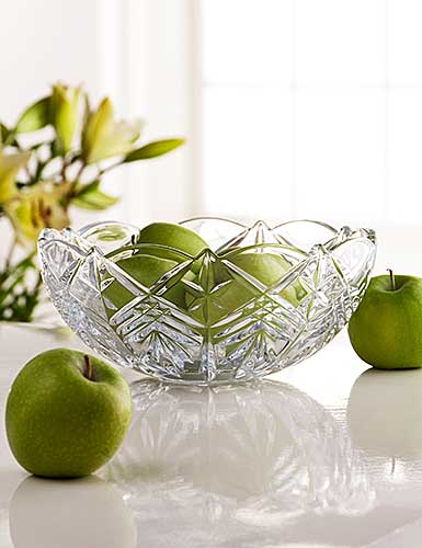 "Galway Crystal Symphony 9"" Bowl - Discountinued"