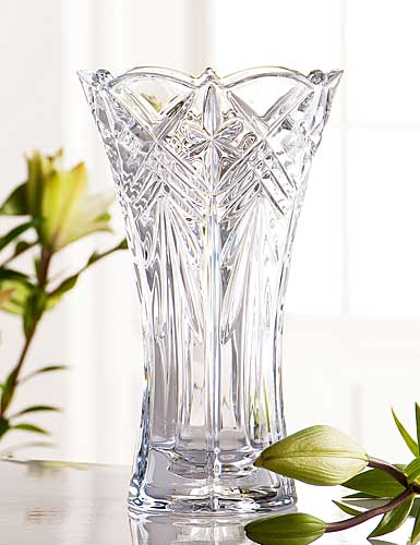 "Galway Crystal Symphony 10"" Vase"