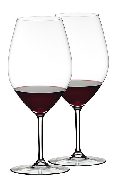 Riedel Ouverture Double Magnum Crystal Wine Glasses, Pair