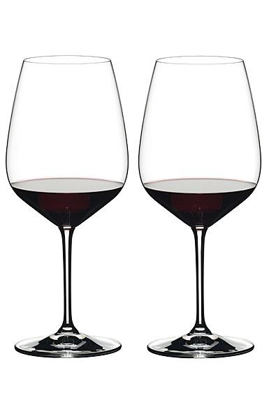 Riedel Heart to Heart Cabernet Sauvignon Wine Glasses, Pair
