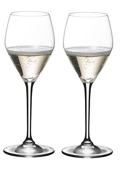Riedel Heart to Heart Champagne Glasses, Pair