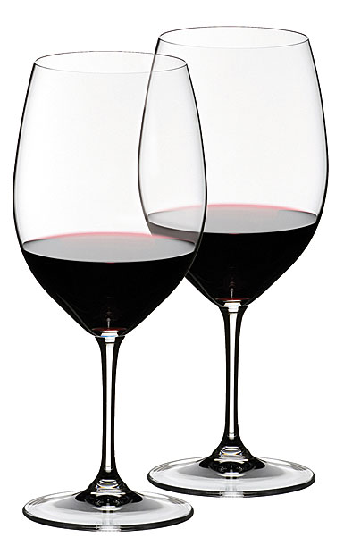 Riedel Vinum Bordeaux, Cabernet and Merlot, Pair