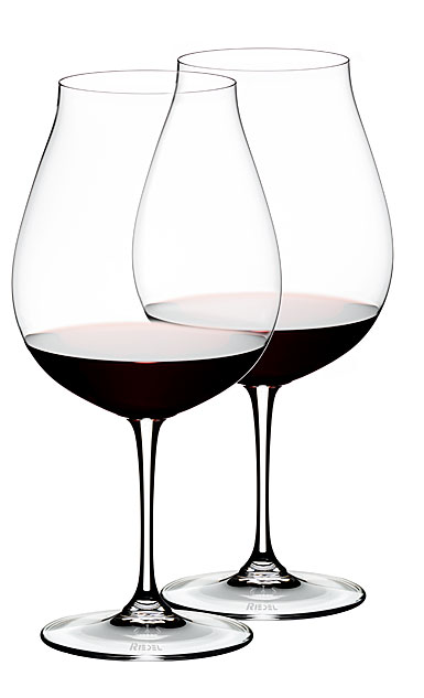 Riedel Vinum New World Pinot Noir Crystal Wine Glasses, Pair