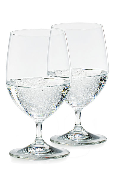 Riedel Vinum Water Glass Non Lead, Pair