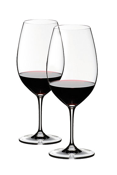 Riedel Vinum, Syrah Crystal Wine Glasses, Pair