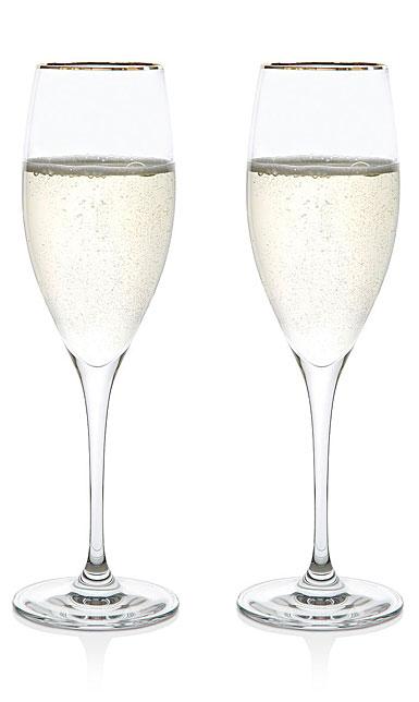 Riedel Vinum Gold Champagne Flute, Cuvee Presige