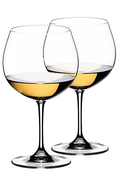 Riedel Vinum Montrachet Chardonnay, Pair