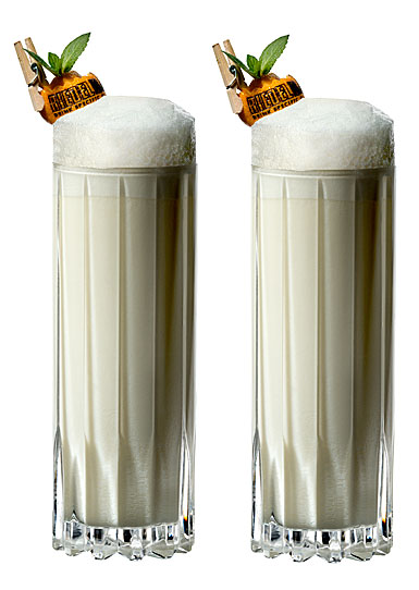 Riedel Drink Specific Fizz Tall Tumblers, Pair