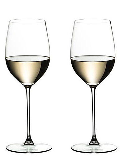 Riedel Veritas, Viognier, Chardonnay Crystal Wine Glasses, Pair