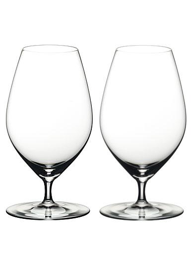 Riedel Veritas Beer Glasses, Pair