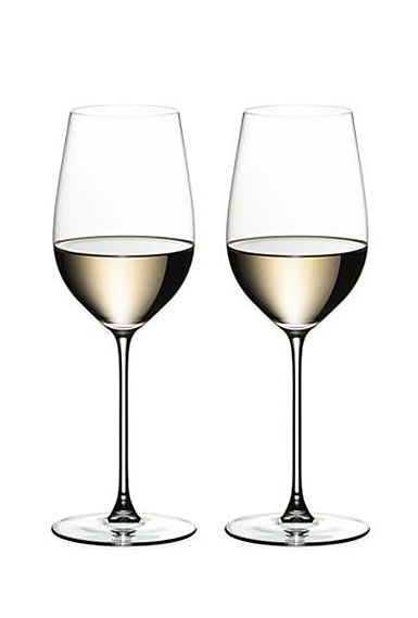 Riedel Veritas, Riesling, Zinfandel Crystal Wine Glasses, Pair