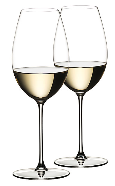 Riedel Veritas, Sauvignon Blanc Crystal Wine Glasses, Pair