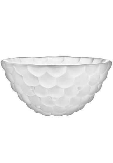 Orrefors Crystal Raspberry Bowl Frost, Medium