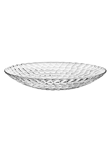 Orrefors Raspberry Serving Plate