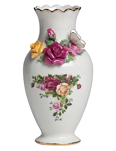 Royal Albert Old Country Roses Bouquet Vase