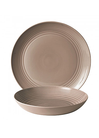 Royal Doulton Maze Taupe 2-Piece Serving Set