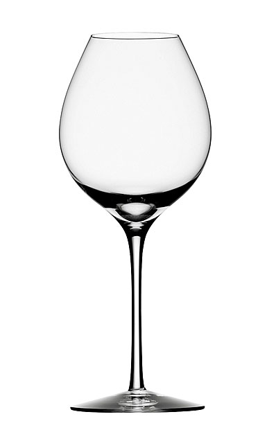 Orrefors Difference Fruit White Wine, Set of four with Decanter