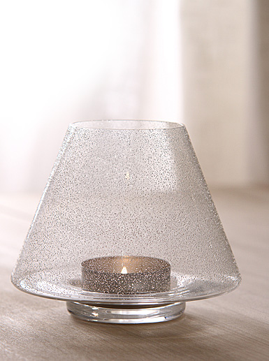 Orrefors Mine & Yours Votive Ice