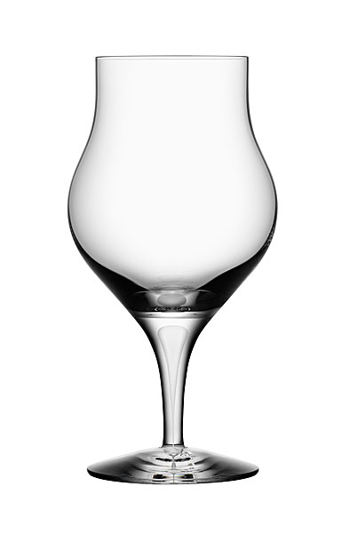 Orrefors Crystal, Intermezzo Satin Crystal Brandy Snifter Glass, Single