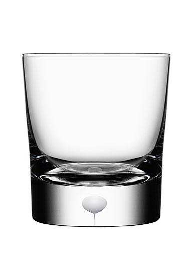 Orrefors Crystal, Intermezzo Satin OF Tumbler Glass, Single
