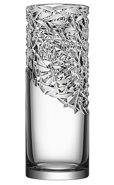 "Orrefors Carat 14.5"" Vase Upper Cut"