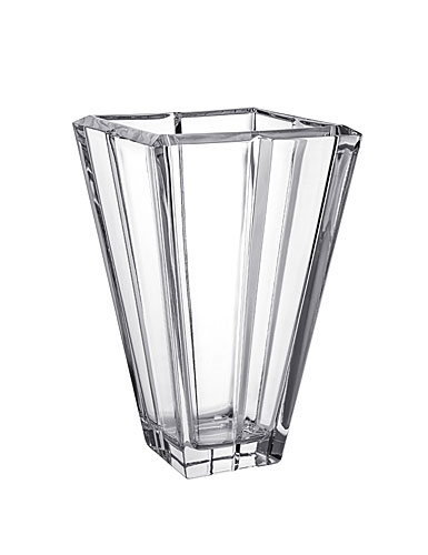 Orrefors Crystal, Plaza Large Crystal Vase