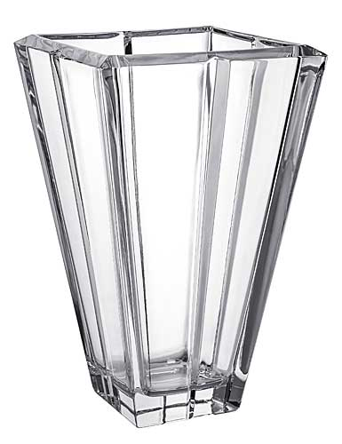 Orrefors Crystal, Plaza Small Crystal Vase