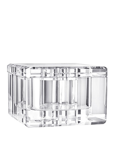 Orrefors Crystal, Ice Box With Lid