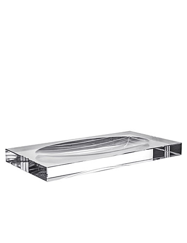 Orrefors Crystal, Ice Vanity Tray