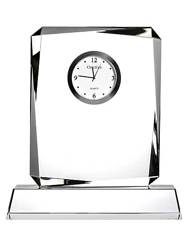 Orrefors Crystal, Vision Table Crystal Clock, Large