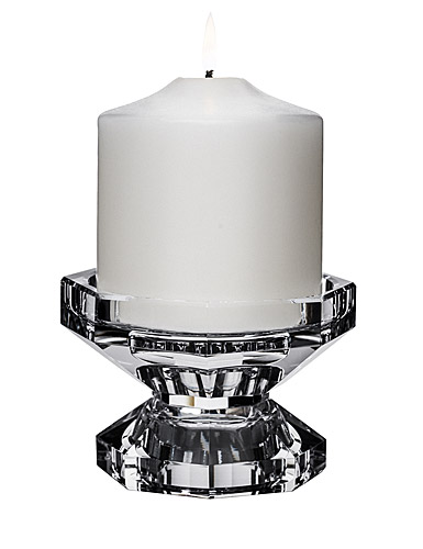 Orrefors Crystal, Totem Trio Crystal Candleholder, Single