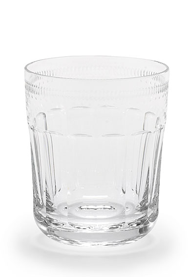 Ralph Lauren Dagny Crystal DOF Tumbler Glass, Single