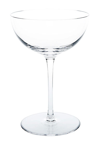 Ralph Lauren Norwood Crystal Champagne Saucer, Single