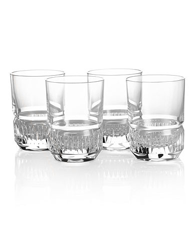 Ralph Lauren Broughton Vodka Crystal Glasses, Set of 4