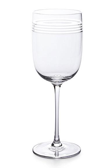 Ralph Lauren Bentley Water Crystal Goblet, Single