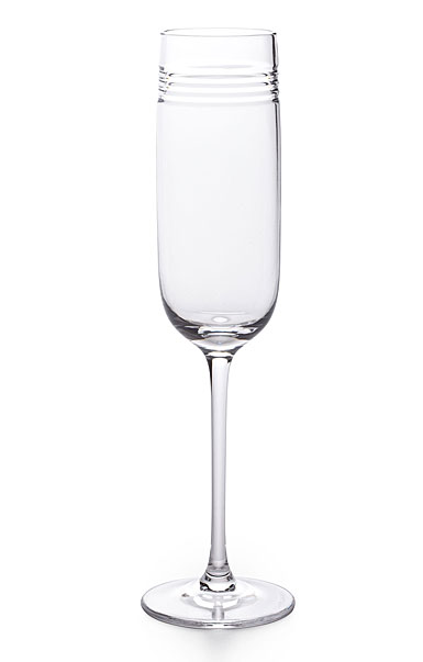 Ralph Lauren Bentley Champagne Crystal Flute, Single