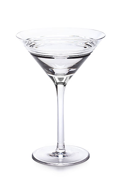 Ralph Lauren Bentley Crystal Martini Glass, Single