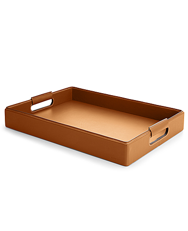 Ralph Lauren Wyatt Small Tray, Saddle