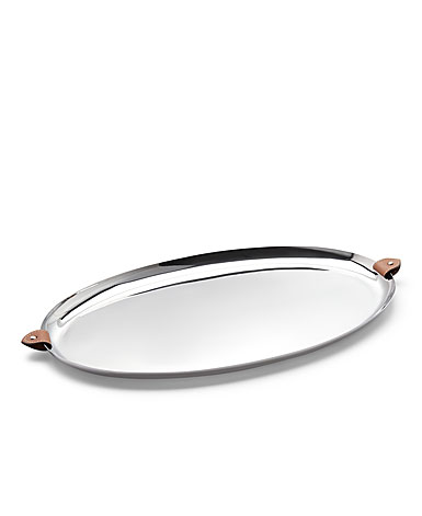 Ralph Lauren Wyatt Oval Serving Tray
