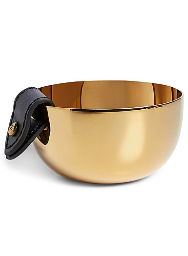 Ralph Lauren Wyatt Small Nut Bowl, Black And Gold