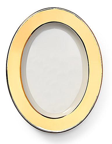 Ralph Lauren Somerville Oval Platter, Gold