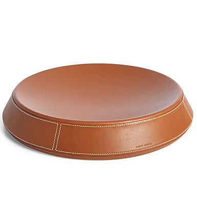 Ralph Lauren Brennan Large Catchall Tray, Saddle