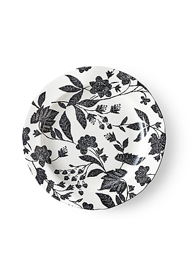 Ralph Lauren China Garden Vine Dinner Plate Single, Black