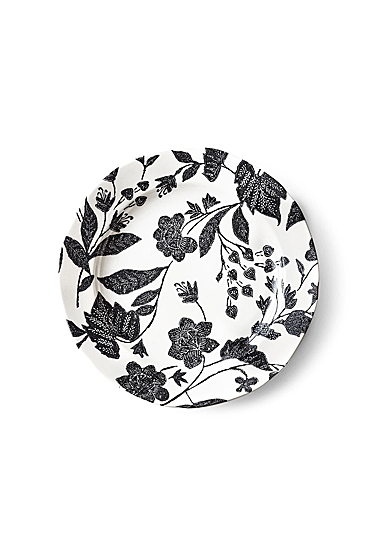 Ralph Lauren China Garden Vine Salad Plate Single, Black