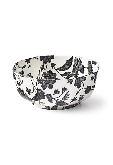 Ralph Lauren China Garden Vine Octagonal Bowl, Black
