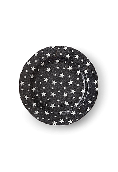 Ralph Lauren China Midnight Sky Salad Plate Single, Black
